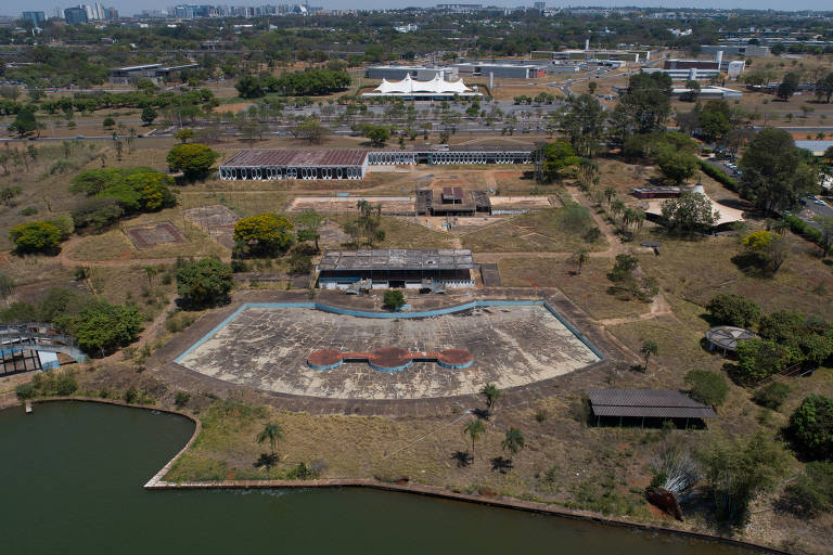 Prédios públicos vazios em Brasília