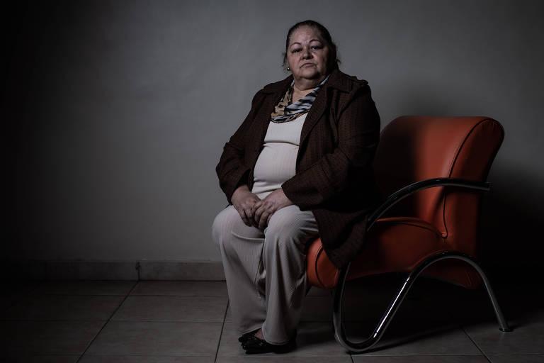 Com o dobro do peso de 30 anos atrás, Jacicleid Ventura, 60, tem hipertensão e problemas de coluna