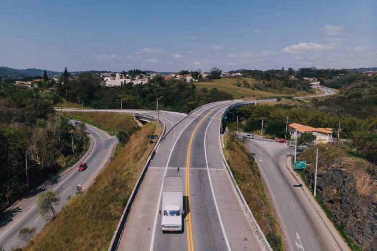 Prolongamento do contorno de São Roque, no km 58 da rodovia Raposo Tavares