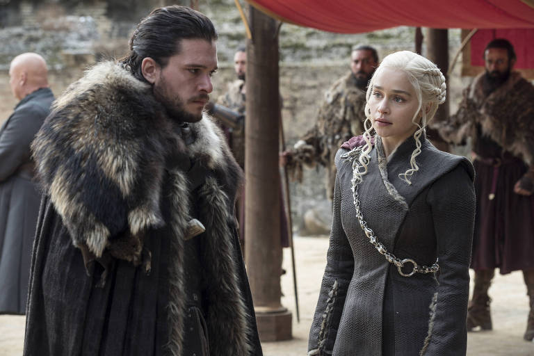 """Cena da série """"Guerra dos Tronos"""", que concorre ao Emmy"""