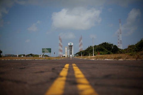 A view of Alcantara space center during a media members visit in Alcantara, Maranhao State, Brazil September 14, 2018. REUTERS/Adriano Machado ORG XMIT: HFSBSB04
