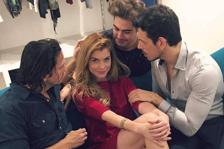 Alinne Moraes e Cauã Reymond, ex-casados, farão par romântico em novela das nove