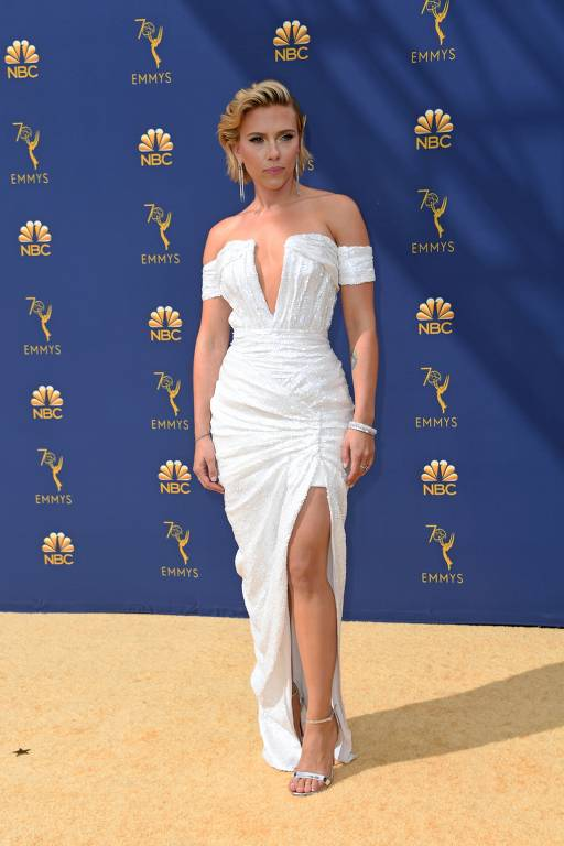 Tapete 'Dourado' do Emmy 2018