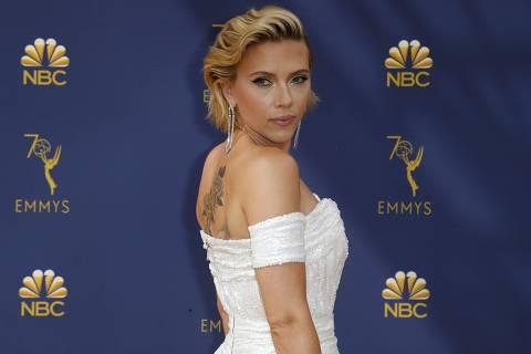 70th Primetime Emmy Awards? Arrivals ? Los Angeles, California, U.S., 17/09/2018 ? Scarlett Johansson. REUTERS/Kyle Grillot ORG XMIT: WY18
