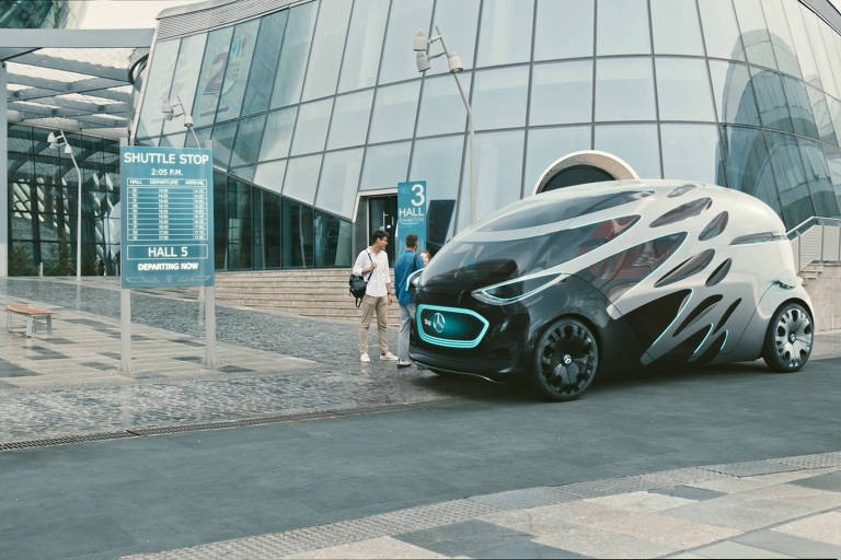 Carro autônomo da Mercedes-Benz