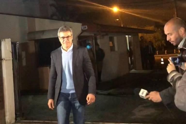 Beto Richa deixa prisão