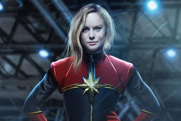 Brie Larson interpreta Capitã Marvel