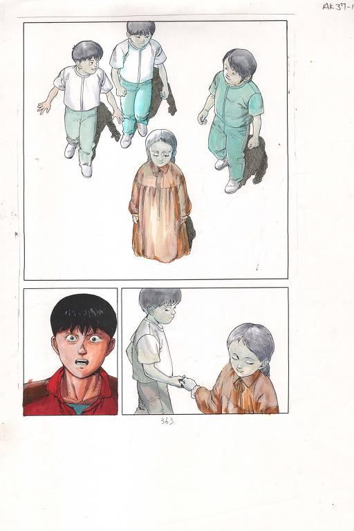 Exposição de quadrinhos no MIS