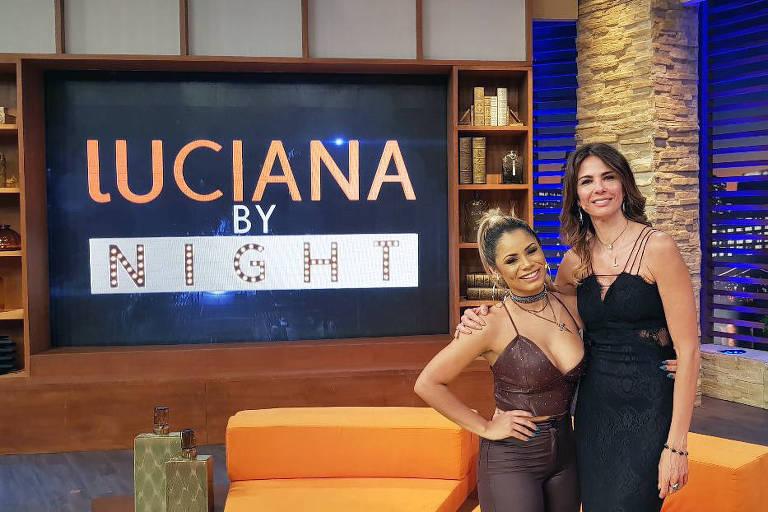 Luciana Gimenez recebe nesta terça-feira (18) de setembro em seu 'Luciana By Night' a cantora Lexa.