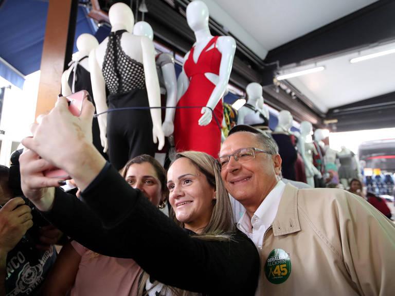 <strong>Geraldo Alckmin nas eleições de 2018</strong>