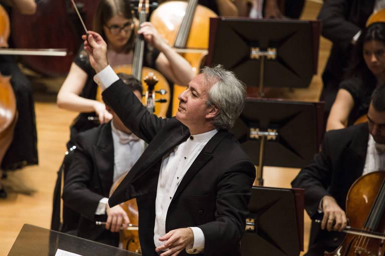 O maestro Fabio Mechetti, regente da Orquestra Filarmônica de Minas Gerais