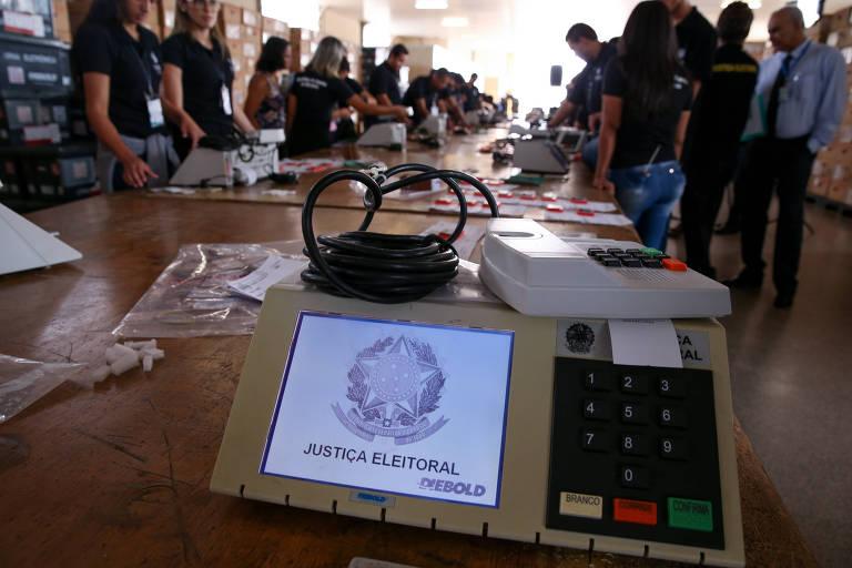 Eleições 2018 - votação