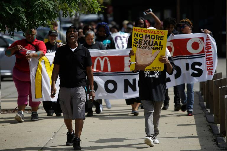 McDonald's workers in US strike over sexual harassment