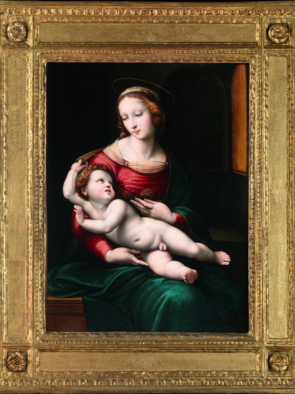 Obras da exposição 'Rafael e a Definição da Beleza'
