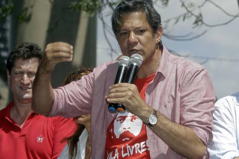 À sombra de Lula, Haddad se consolida em segundo e preocupa Alckmin