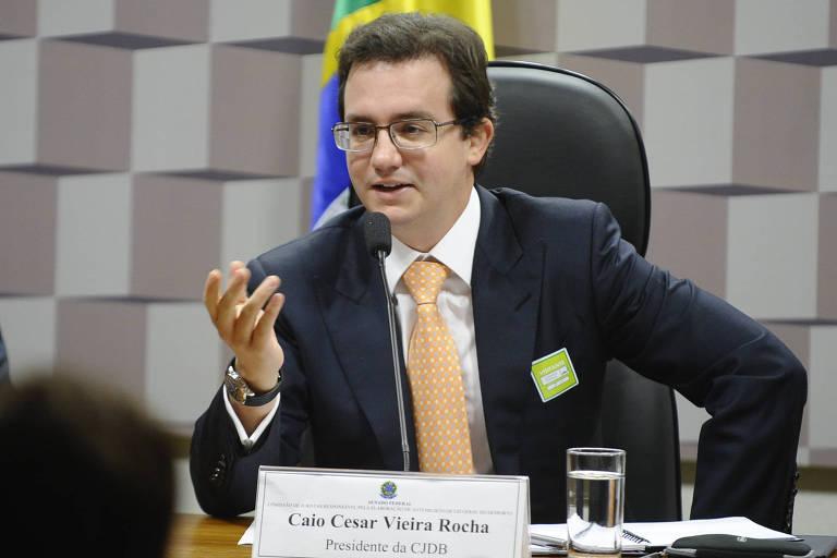 Caio Cesar Vieira Rocha, presidente do STJD de 2014 a 2016, indicado pela CBF
