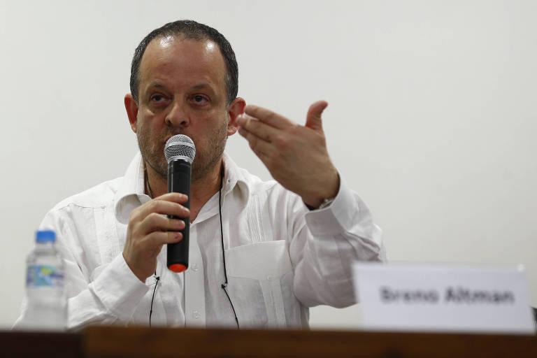 O jornalista Breno Altman