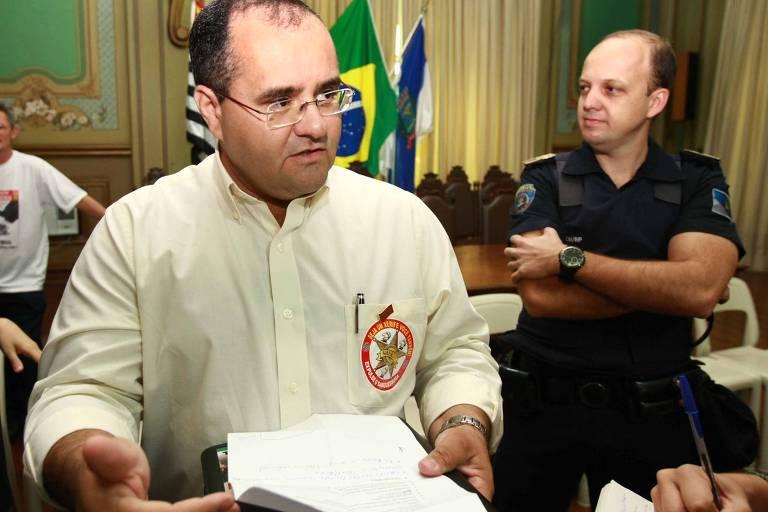 Presidente do sindicato dos servidores, Wagner Rodrigues
