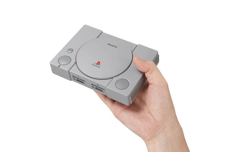 Sony vai fabricar Playstation em miniatura