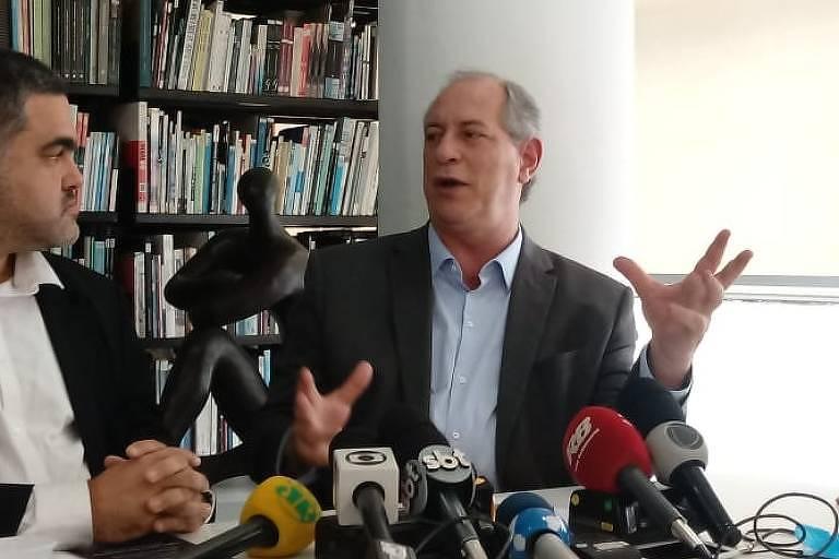 Ciro Gomes participa de reunião com arquitetos em São Paulo