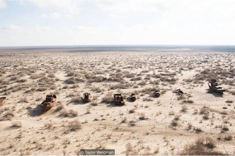 O mar de Aral está trazendo novas riquezas para vilarejos de pescadores no Cazaquistão