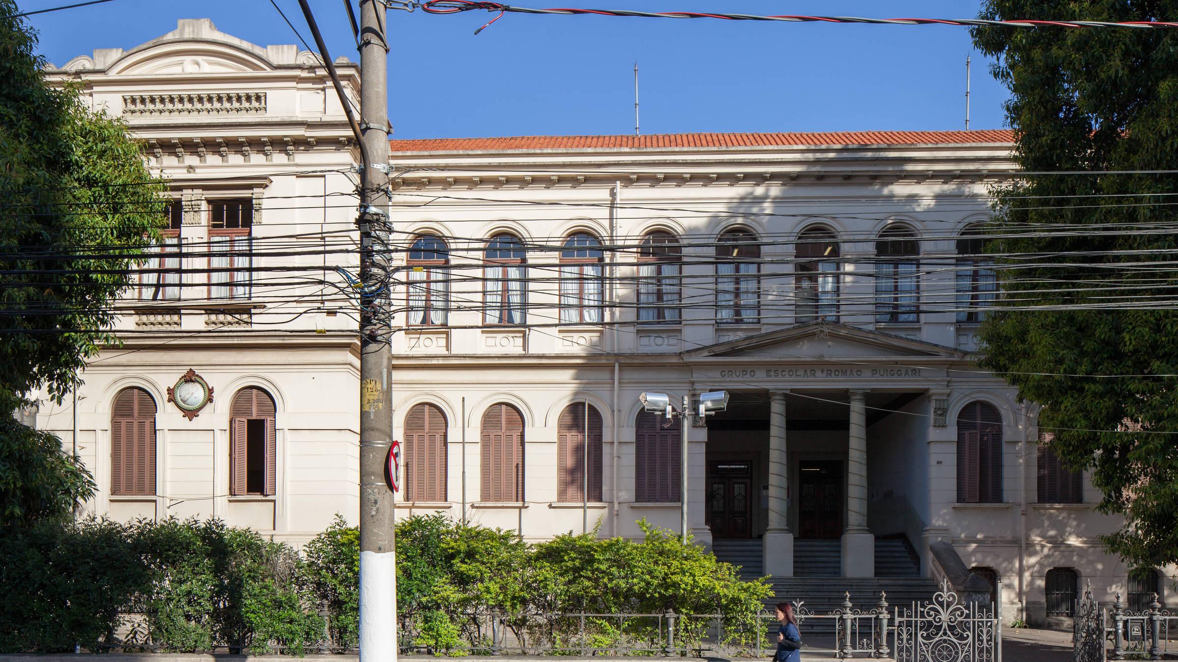 Ensaio da arquitetura dos prédios de escolas públicas na cidade de São Paulo - Fotos Tuca Vieira/Folhapress