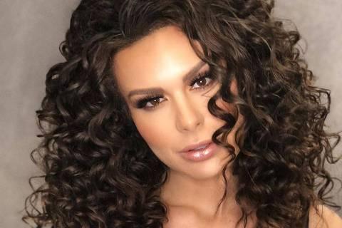 A modelo Fernanda Lacerda, a Mendigata