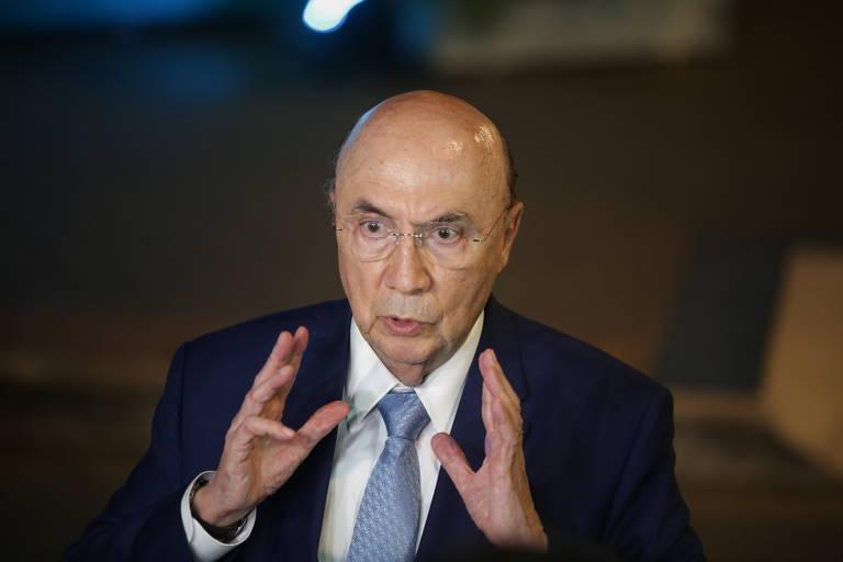 Henrique Meirelles, do MDB, chega para o debate eleitoral entre os candidatos à Presidência promovido pela Conferência Nacional dos Bispos do Brasil (CNBB), na TV Aparecida