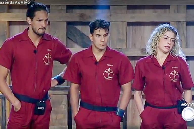 Catia Paganote, Felipe Sertanejo e João Zoli fazem parte do time terra