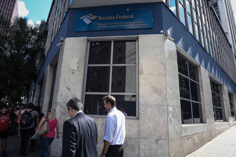 Prédio da Receita Federal, na rua Augusta, em São Paulo