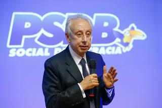 ALCKMIN / PSDB / ELEICOES / PERSIO ARIDA / ECONOMIA