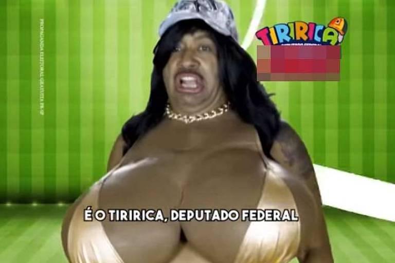 Tiririca imita Jojo Todynho em campanha