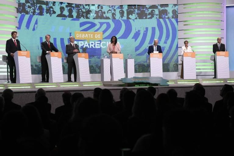 Candidatos à Presidência participam de debate na TV Aparecida