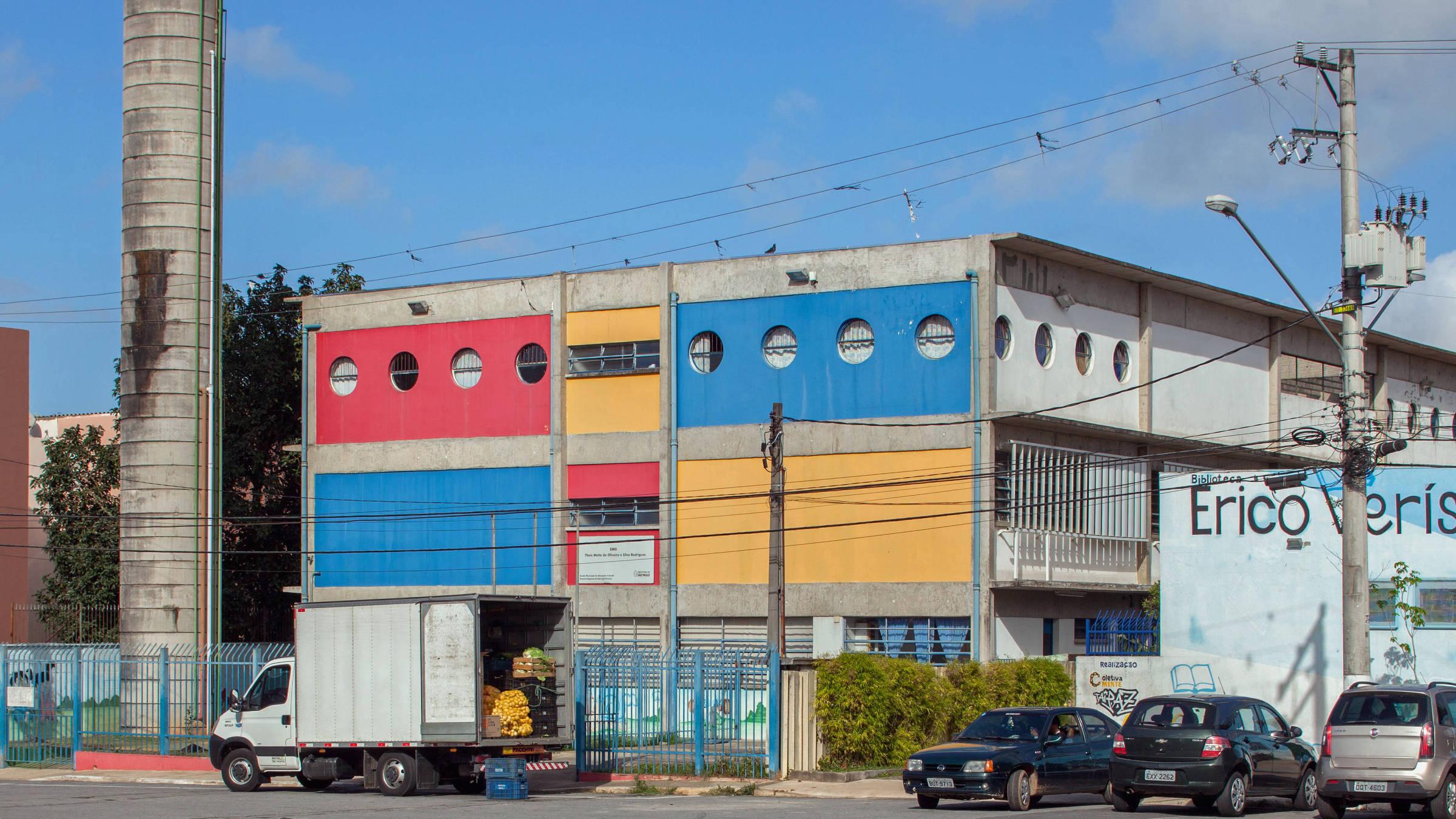 Ensaio da arquitetura dos prédios de escolas públicas na cidade de São Paulo - Fotos: Tuca Vieira/Folhapress