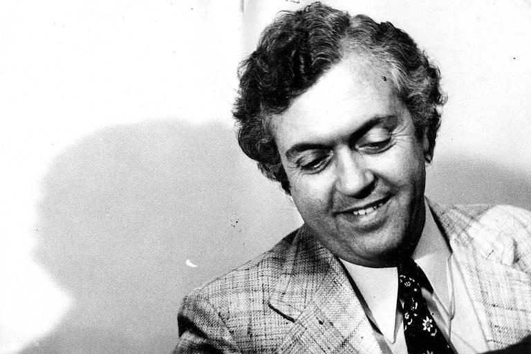 Retrato do escritor e jornalista Lourenço Diaferia, em 1978