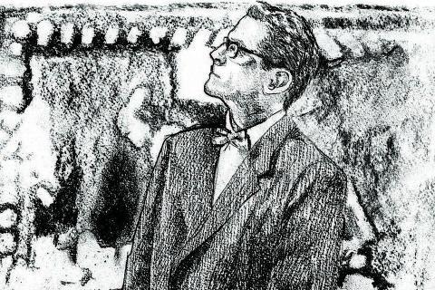 Ilustração de Zed Nesti sobre foto de 2001 de Lenise Pinheiro