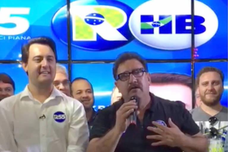 Justiça limita eventos com apresentador Ratinho em campanha do filho no Paraná