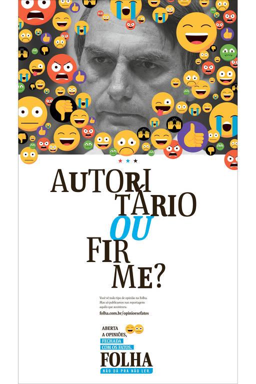 Nova campanha institucional da Folha
