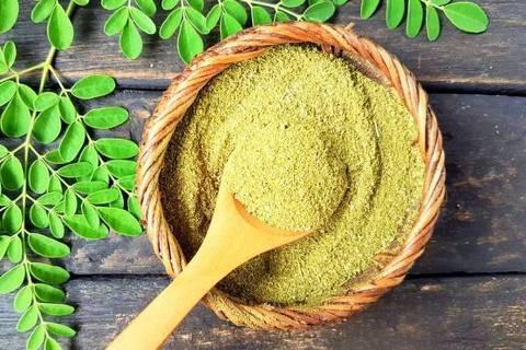 s folhas de moringa são ricas em vitaminas A, B e C, e mineirais; o Centro de Alimentos para o Futuro que popularizar cultivos esquecidos