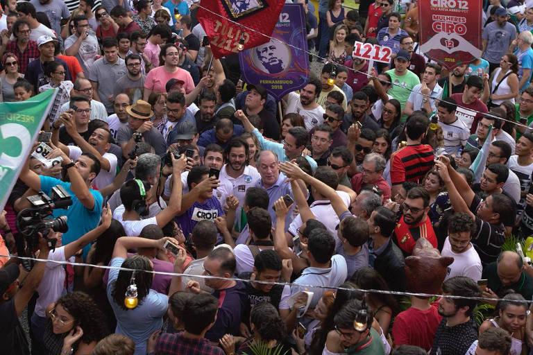 <strong>Ciro Gomes nas eleições de 2018</strong>