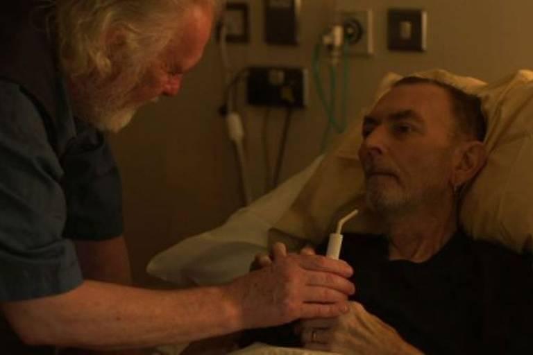 'Por que filmei o último suspiro de um homem' - BBC News Brasil