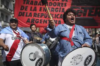 ARGENTINA-BUENOS AIRES-MOVILIZACION-PARO