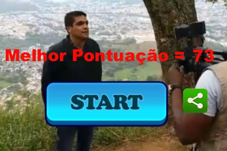 Cabo Daciolo é filmado em monte onde costuma orar no Rio de Janeir