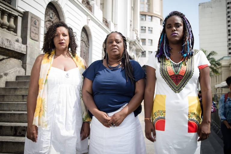Ex-assessoras da vereadora Marielle Franco, Daniela Monteiro, Renata Souza e Mônica Francisco foram eleitas para a Alerj