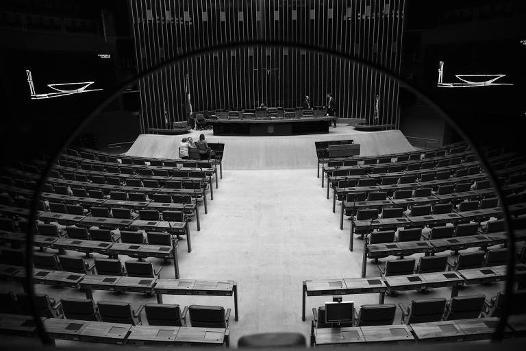 Plenário da Câmara, em Brasília, em agosto deste ano