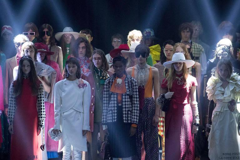 Desfile da Gucci em Paris