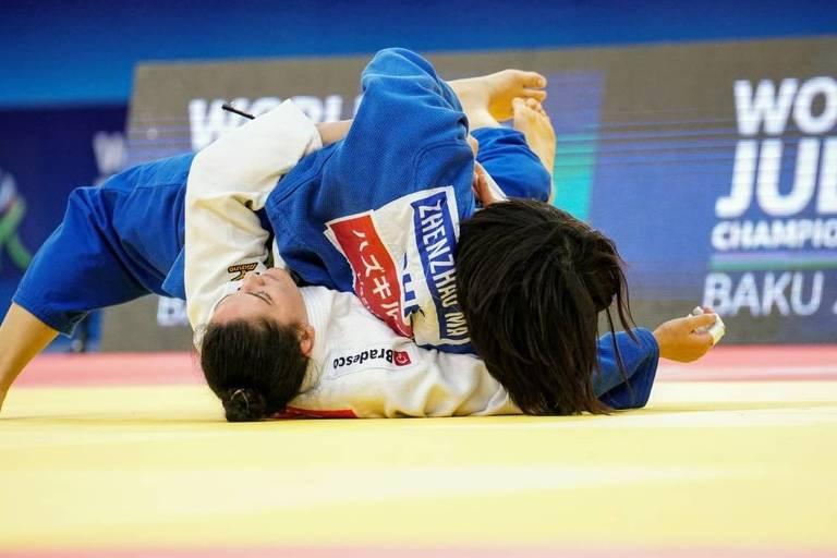 Judoca Mayra Aguiar