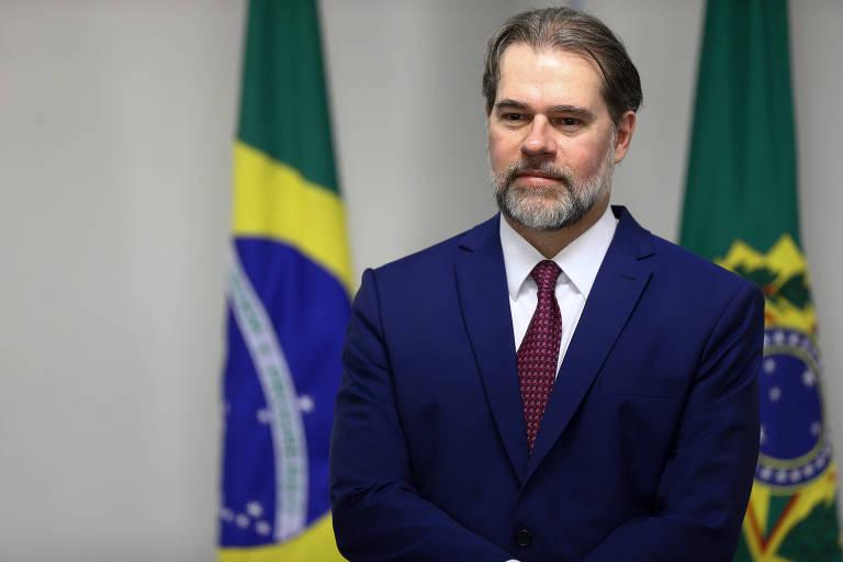 O Presidente República em exercício, ministro Dias Toffoli