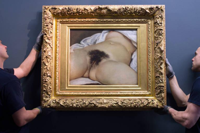 Nus famosos da arte