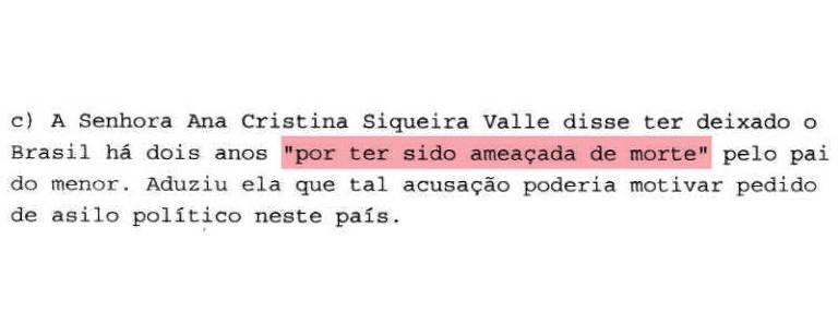 Telegrama com acusação contra Bolsonaro